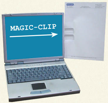 Uchwyt do kartek Magic Clip